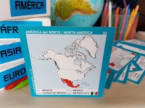 Países y capitales de América ¡aprende jugando!