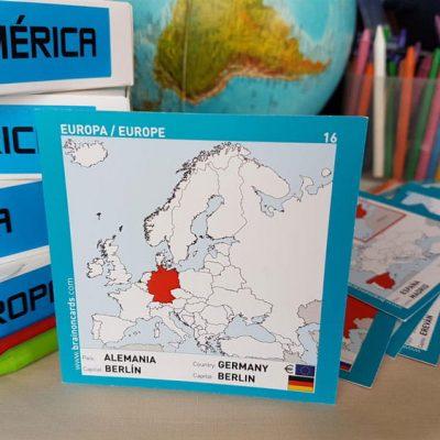 Países y capitales de Europa ¡aprende jugando! Alemania